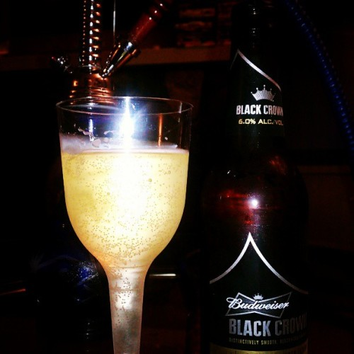 #WindingDown the night with my boo @fsacil. #Hookah,#Bubbly&#Booze. #HisAndHers. :)