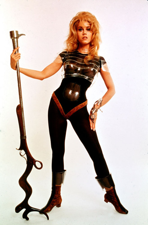 Cover image from the March 29, 1968, issue of LIFE. Jane Fonda in the title role of the movie, Barbarella. See more photos here.