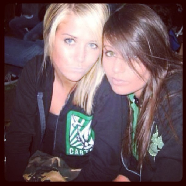 our teen years = warped tour summers 😐 #TBT @rachelk__