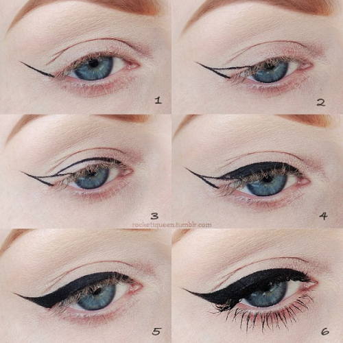if you need help with eyeliner, this is a pretty cool visual guide.