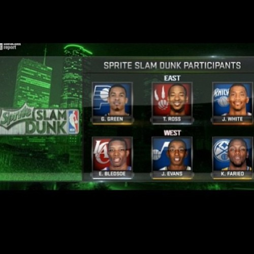 hoopmixtape:  2013 NBA Slam Dunk Participants. Who you got? #nba #dunkcontest