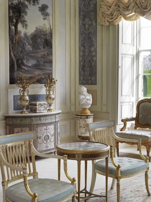 a-l-ancien-regime:  The Gabrielli room in  Lyons Demesne  estate  Co. Kildare Ireland
