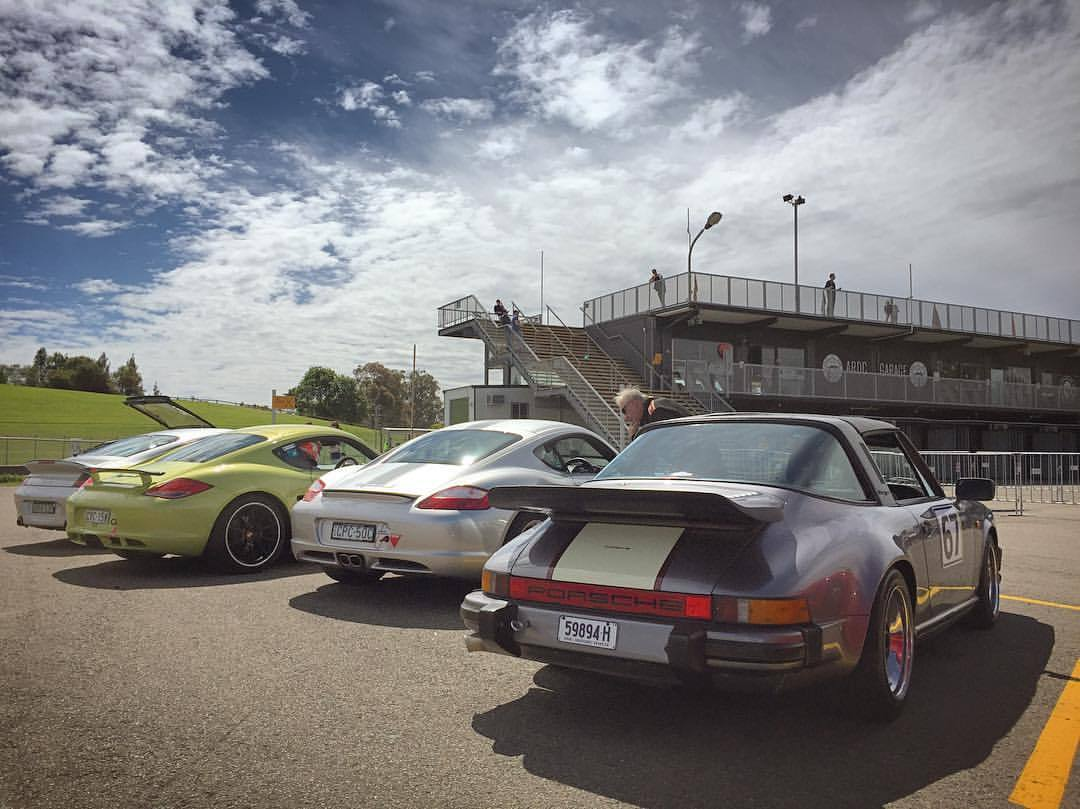 Chasing Caymans (at Sydney Motorsport Park)