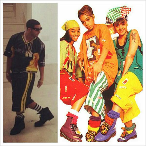 Drake, TLC - Drake wanna be in TLC so bad