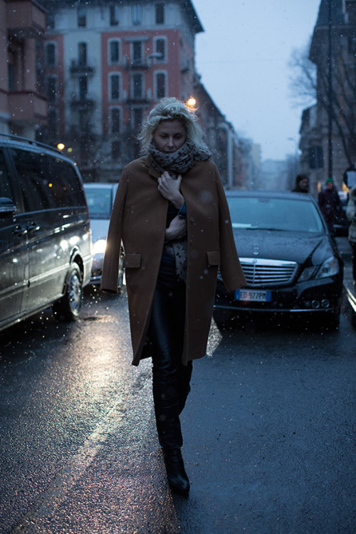 On the Street…. via Fogazzaro, Milan - The Sartorialist