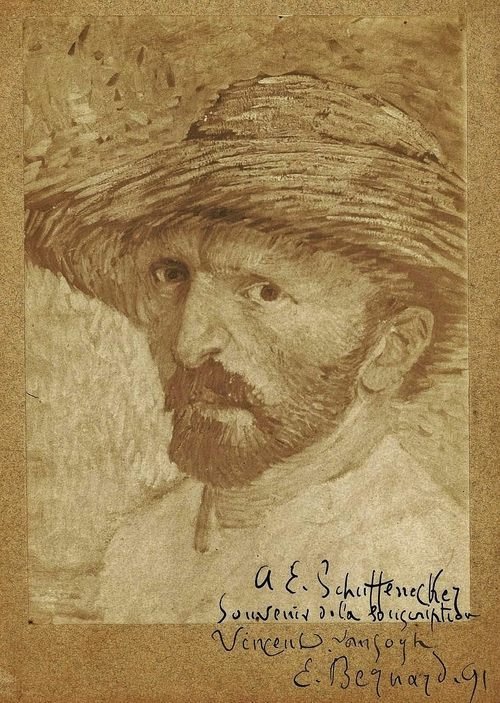 artemisdreaming:  Viincent van Gogh Self portrait, 1880-90, Van Gogh Museum . What am I in the eyes of most people - a nonentity, an eccentric or an unpleasant person - somebody who has no position in society and never will have, in short, the lowest of the low. All right, then - even if that were absolutely true, then I should one day like to show by my work what such an eccentric, such a nobody, has in his heart. That is my ambition, based less on resentment than on love malgré tout [in spite of everything], based more on a feeling of serenity than on passion. Though I am often in the depths of misery, there is still calmness, pure harmony and music inside me. I see paintings or drawings in the poorest cottages, in the dirtiest comers. And my mind is driven towards these things with an irresistible momentum. From a letter to Theo van Gogh, The Hague, 21 July 1882