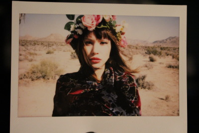 polaroid from the joshua tree shoot