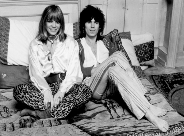 ANITA PALLENBERG et KEITH RICHARDS