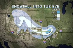 Rare Christmas Snow for Dallas, OKC, Little Rock   Not often does Dallas, Oklahoma City and Little Rock see snow on Christmas, but Mother Nature is ready to defy those odds this year.