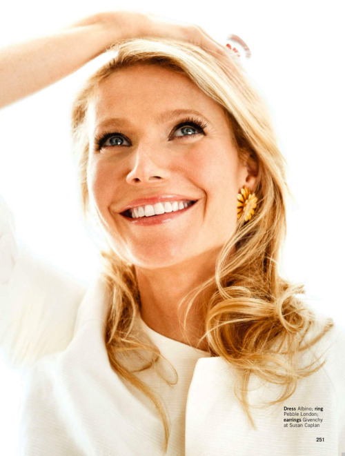 """Gwyneth's Good to Go!"" (+) Glamour UK, June 2013 photographer: Coliena Rentmeester Gwyneth Paltrow"