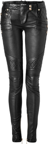 What Would Khaleesi Wear?Leather Moto Skinnies