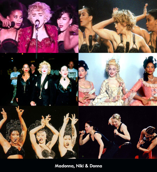 Madonna, Niki & Donna appreciation.
