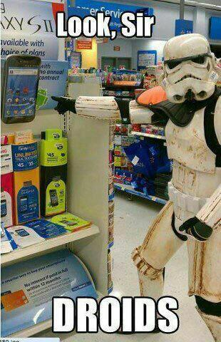 justarandompony:  These aren't the droids you're looking for