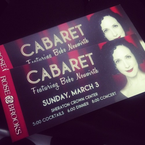 Cabaret here we come! #rosebrooks #kc #philanthropy cc: @amybrown63