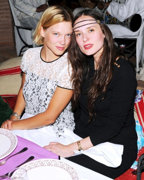 Léa Seydoux at the ASMALLWORLD relaunch weekend in Morocco
