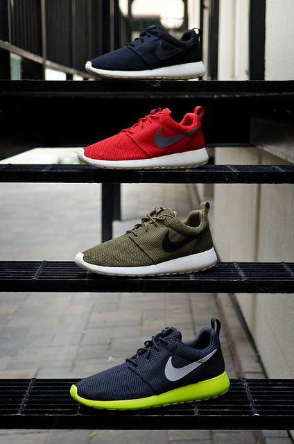 sneakerphotogrvphy:  Nike Roshe, Four Floors by seango on Flickr.
