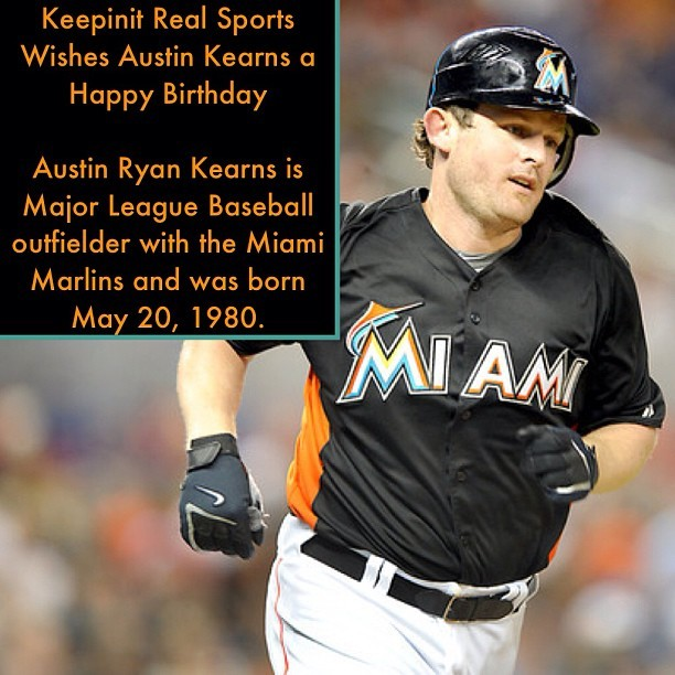 #HappyBirthday #AustinKearns #outfielder #Miami #Marlins #Cincinnati #Reds #Washington #Nationals #Cleveland #Indians #New York #Yankees #Cleveland #Indians #MLB #Baseball #Followback #Sports #keepinitrealsports #MysterKeepinit