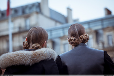 clichey:  Hair Dressing Miu Miu - Paris Fashion Week PAP AW14