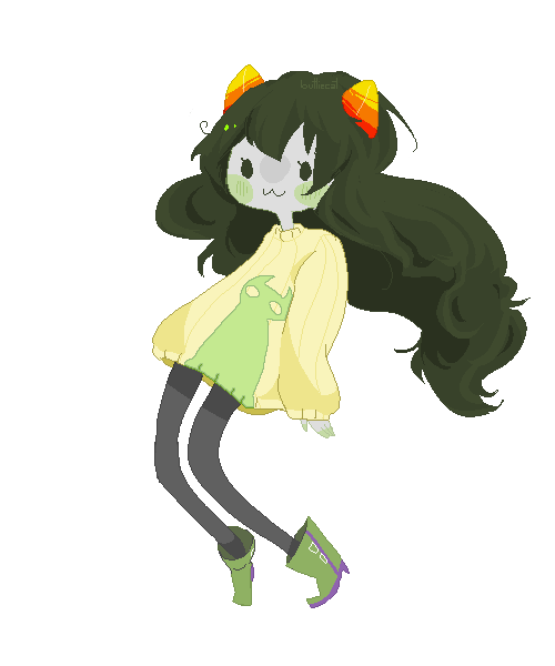 buttiecat:  Transparent chibi Meulin?