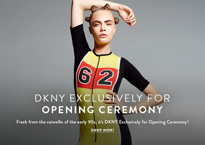 DKNY Exclusively for Opening Ceremony (via OPENING CEREMONY)