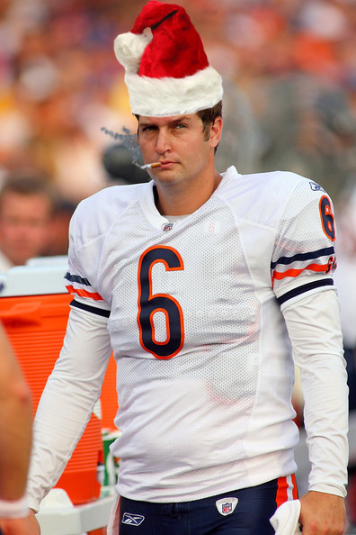 Merry Christmas from Smokin' Jay Cutler!