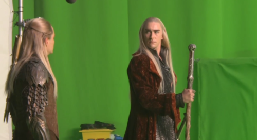 hammandbuble:  #can we talk about Legolas's armour like #DAMNNMNNNNNMNMN SONN  Why hasn't anyone mentioned yet how much Thranduil looks like Lucius Malfoy in this outfit?