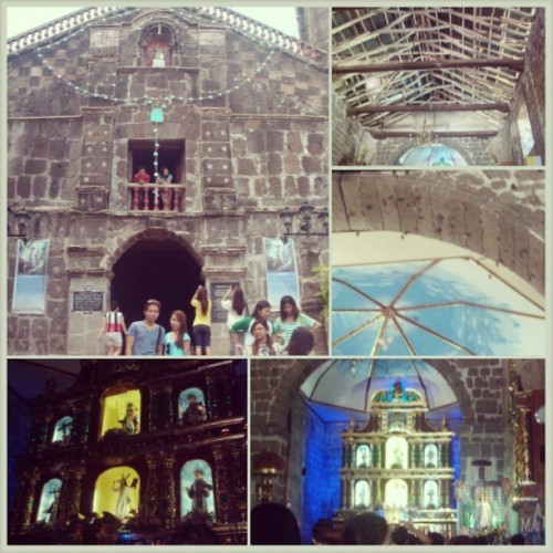 Baras Church. Famous church as you've seen most in the teleseryes. Inside of the church were full of bats. #ArtTour #humanities #lateupload #ItsMoreFunInThePhilippines (at Baras, Rizal)