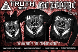 JUST ORDERED THIS!! *O* truthdept:  NO ZODIAC  Limited Edition official merch  by: Truth Dept Apparel All sizes available and we ship worldwide! Please visit our webstore! http://truthdept.storenvy.com/ And like us on facebook http://www.facebook.com/truthdept Visit No Zodiac's offial facebook http://www.facebook.com/NOxZODIAC Spreading The Truth Since 2009