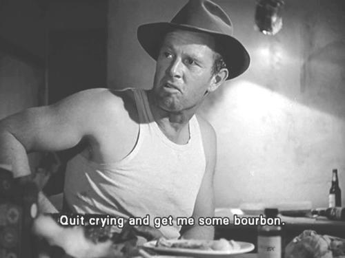 oldfilmsflicker:  bookofbourbon:  Sterling Hayden, The Asphalt Jungle  whaaaaat isssssss thissssssss Tumblrrrrrrrrrrrrrrr?!  THIS IS A SHIMMER OF MY SATURDAY NIGHT LOL