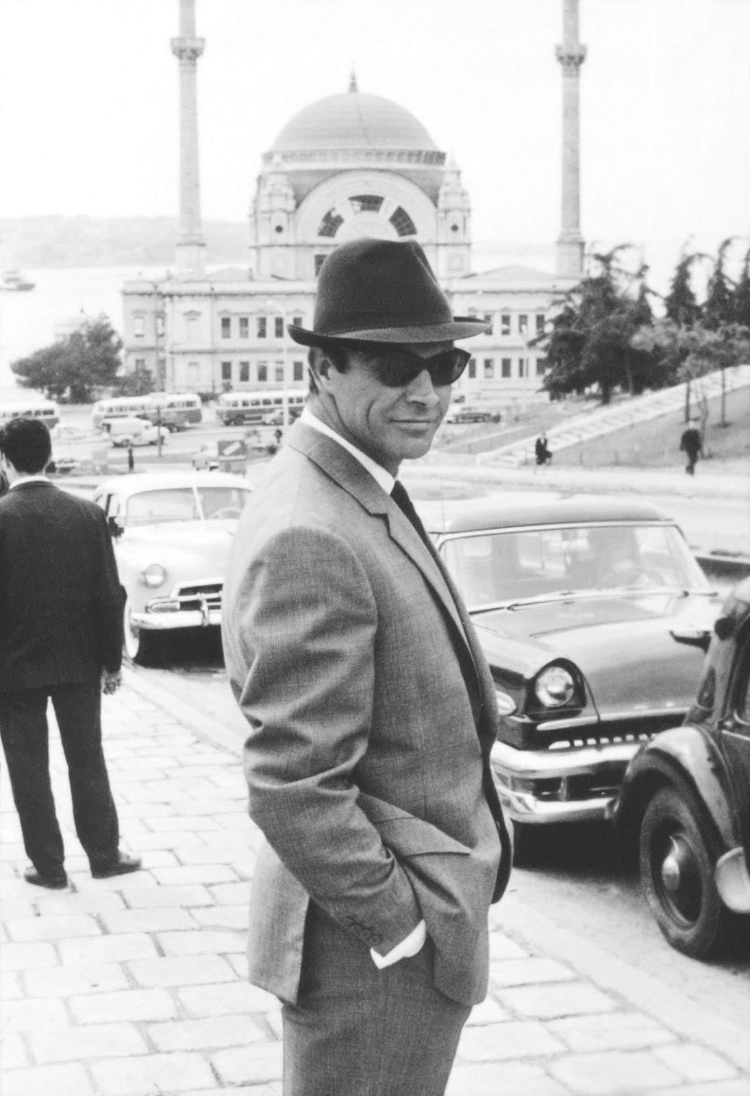 livviedehavilland:  Sean Connery during the filming of From Russia with Love, 1963