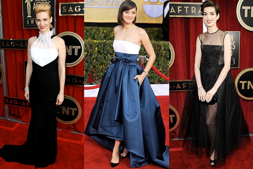 All your SAG Awards fashion needs today on chicityfashion.com