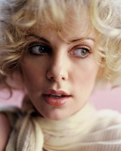 Charlize Theron by Peggy Sirota, 2001