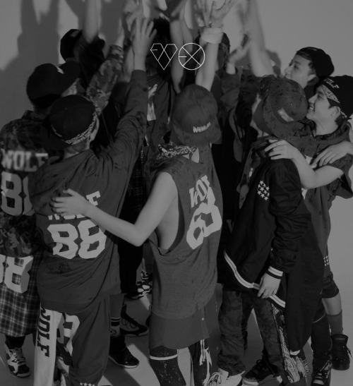 exo's official site layout update