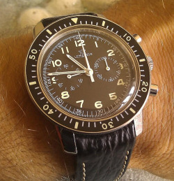 46and2:  omegaforums: Vintage Lemania Military Chronograph