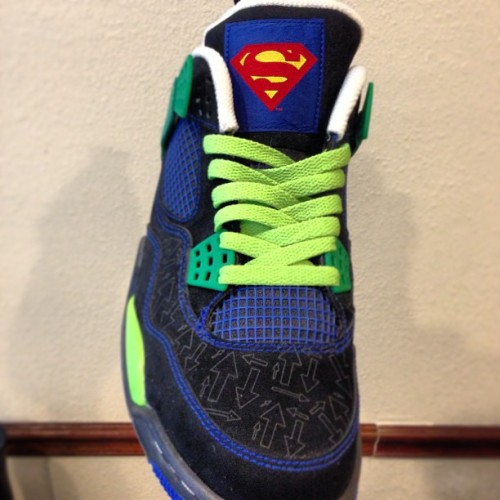 These #superman kicks are so #swank. Dope #shoes.