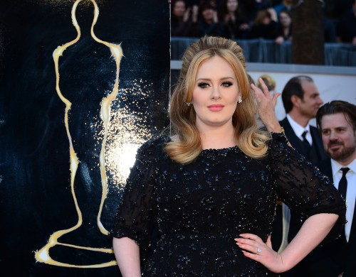 "forbes:  Another stunning ""Skyfall"" performance from Adele at the Oscars tonight! She was recently featured on Forbes' annual 30 Under 30 list for Music. Photo: AFP/Getty Images"
