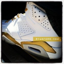 I love GOOOOOLD! #igsneakercommunity #complexkicks #jordan #gold #todayskicks