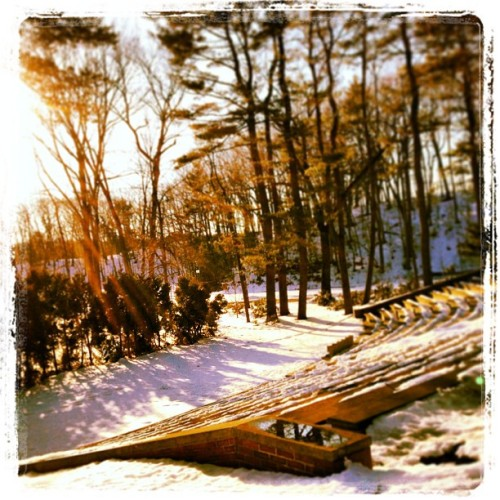 #wonderful #wellesley #college #amphitheater @amarietweets  (at Alumnae Hall, Wellesley College)