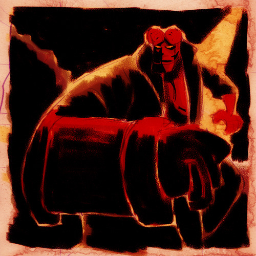 DSC Hellboy by Hieloh