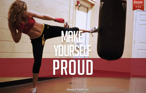 YES!  MAKE YOURSELF PROUD!
