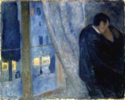 ratsoff:  Edvard Munch, The Kiss