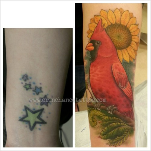 Cover up today on Melanie.