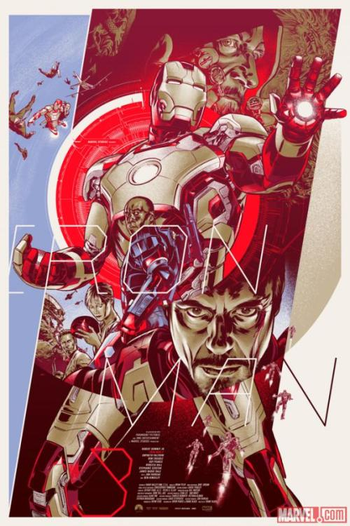 marvelentertainment:  Prepare for Marvel's Iron Man 3 with these awesome posters from Mondo! Which is your favorite?