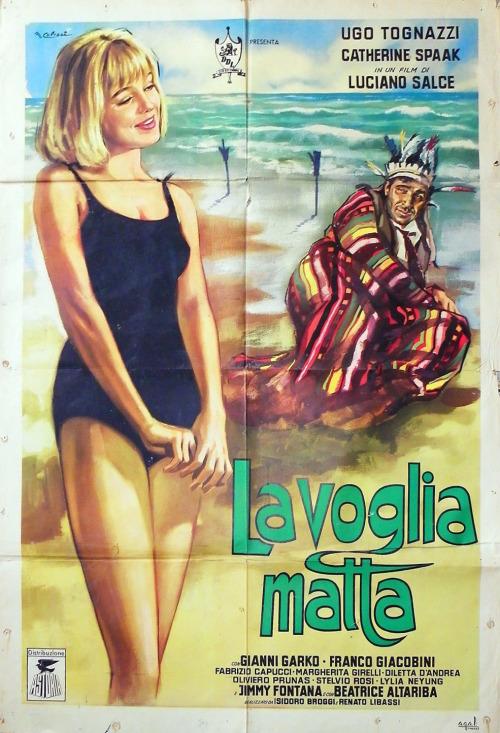 original poster La Voglia Matta 1962
