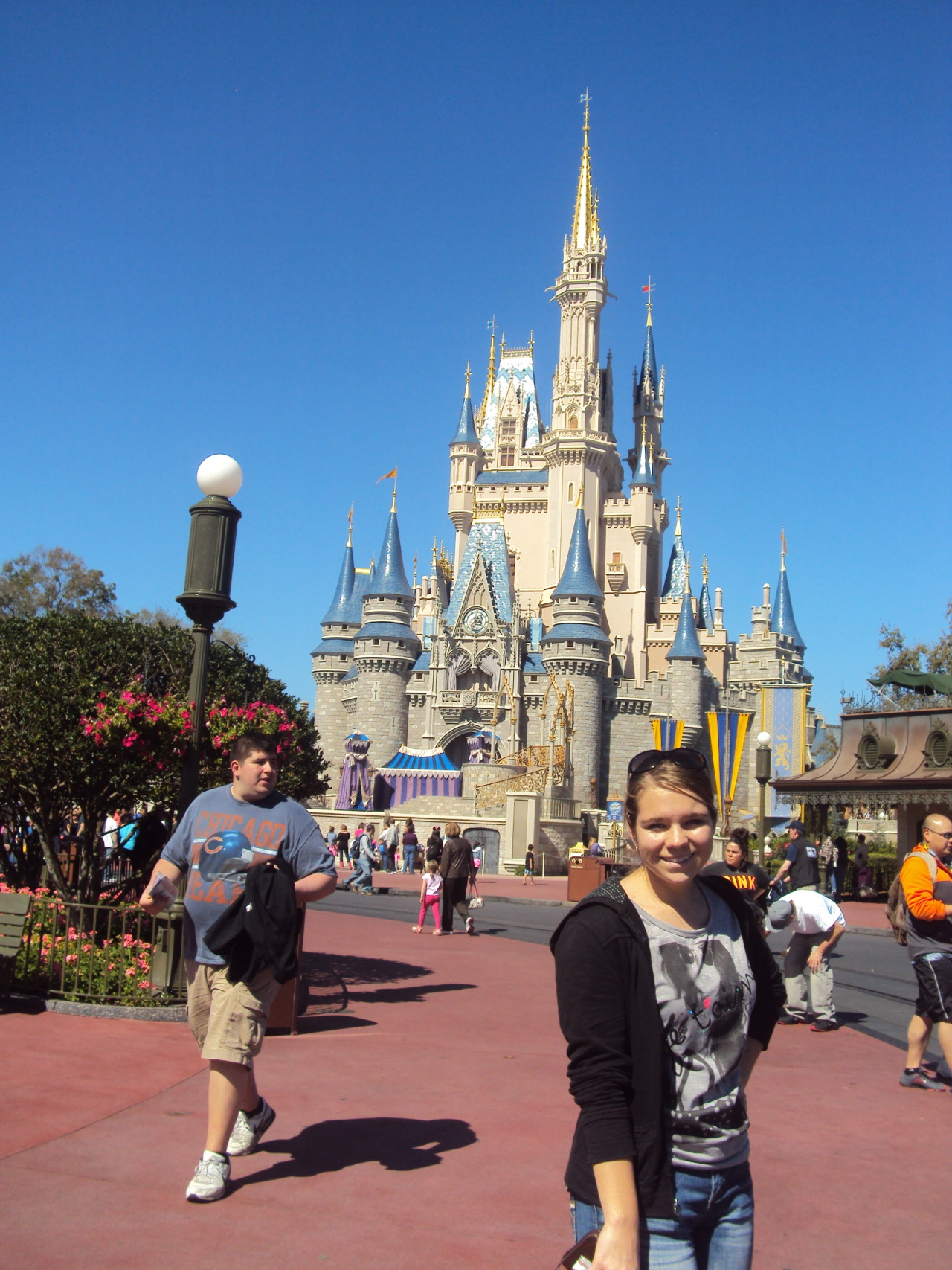 Me in Disney World Yesterday :)