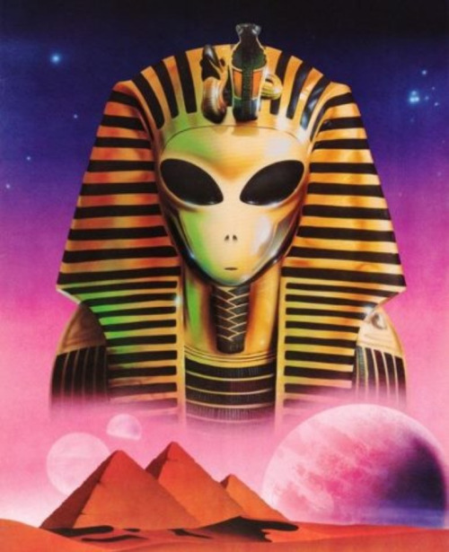 #alien #ufo #pyramids #moon #space #outerspace