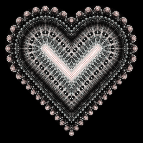 Fractal Heart by ~haywain(Wægen)       (fh521b) Available from DeviantART as high resolution (5000x5000px) download for free, or for purchase as print (prints, cards, mugs and more).