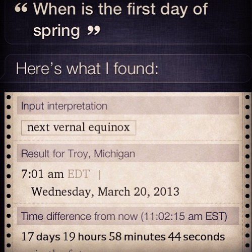 Sometimes Siri is awesome!