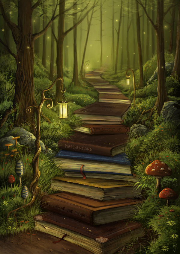 furryfeet:  The Reader's Path by *jerry8448