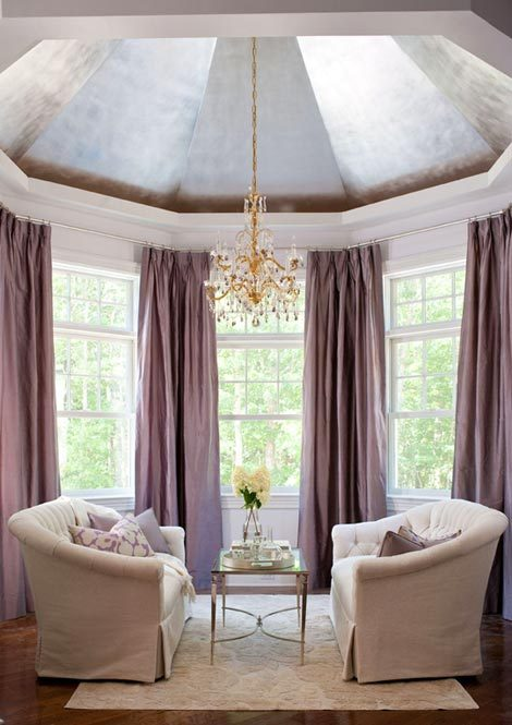 a charming bay window